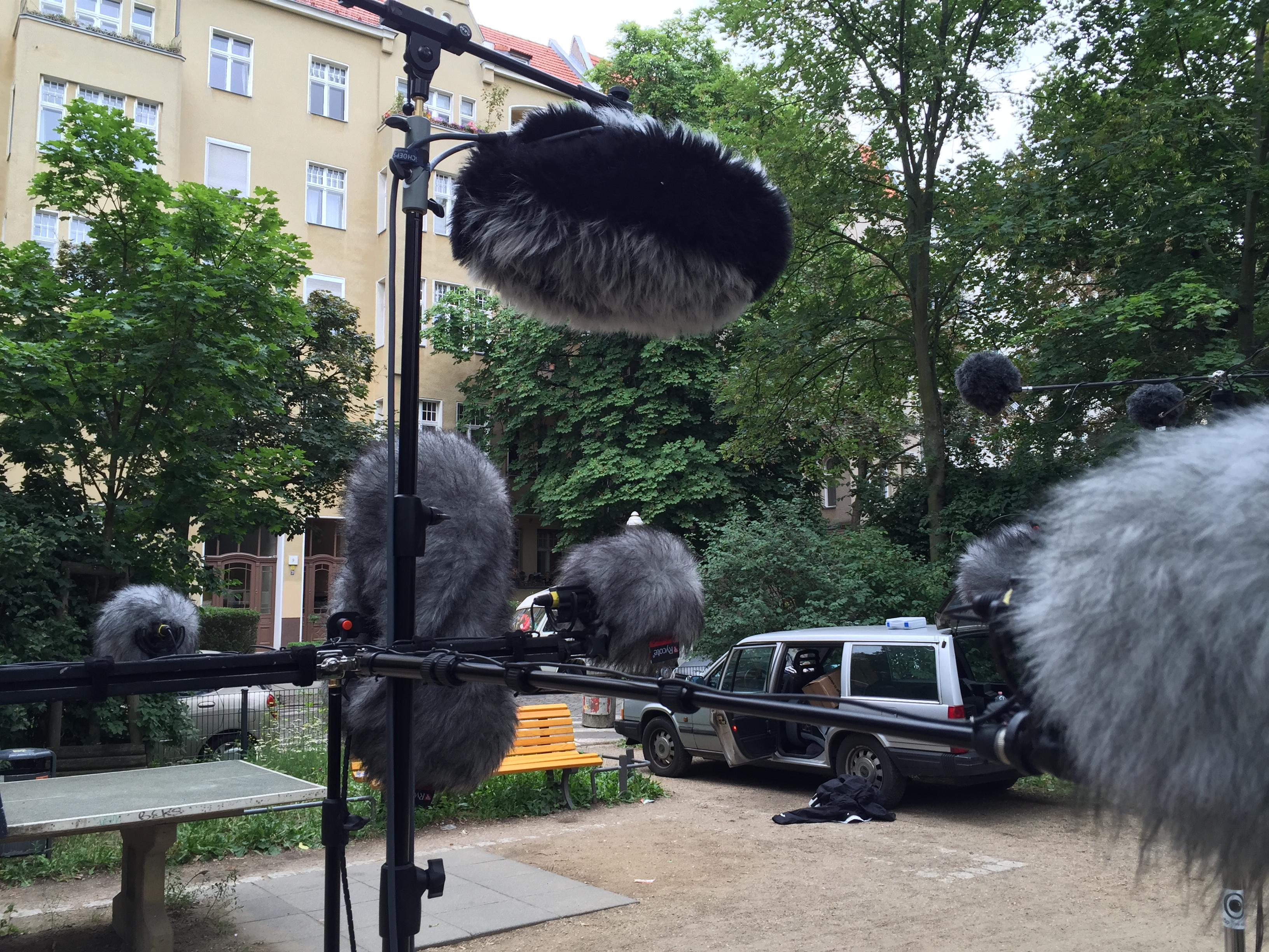 Test von 3D-Mikrofonarrys, 2016